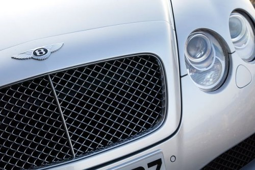 Bentley Continental GT do naprawy
