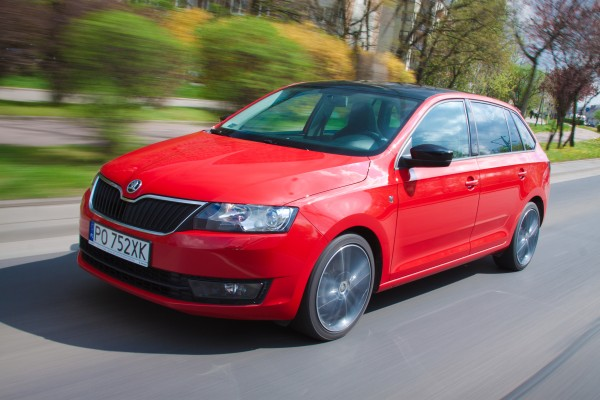 Testy mojeauto.pl: Skoda Rapid Spaceback - video w mojeauto.tv