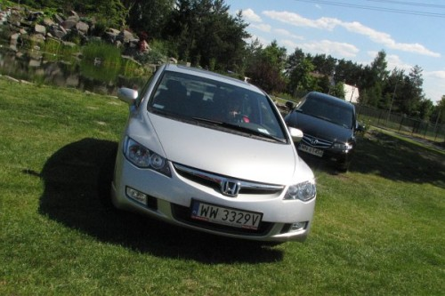 Honda Civic sedan w Polsce