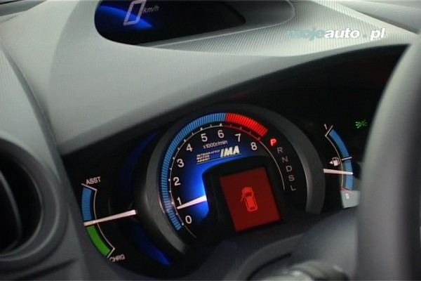 Testy mojeauto.pl : Honda Insight - video w mojeauto.tv