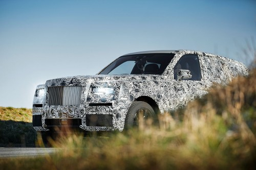 Rolls-Royce Cullinan - SUV z Goodwood