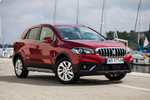 Suzuki SX4 S-Cross face-lifting 2016  - motogazeta mojeauto.pl