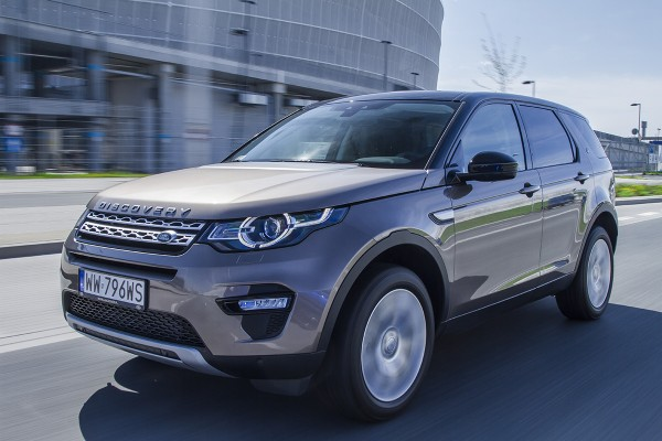Test video: Land Rover Discovery Sport  - motogazeta mojeauto.pl