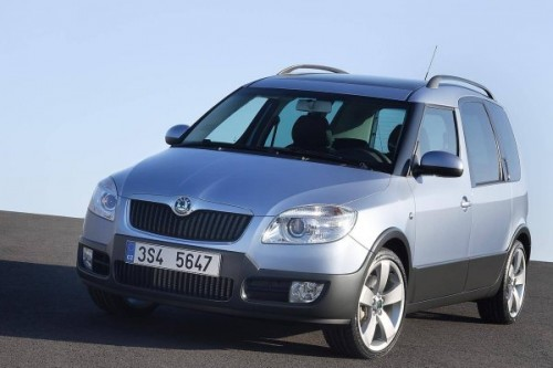 Skoda Roomster Scout w 2007