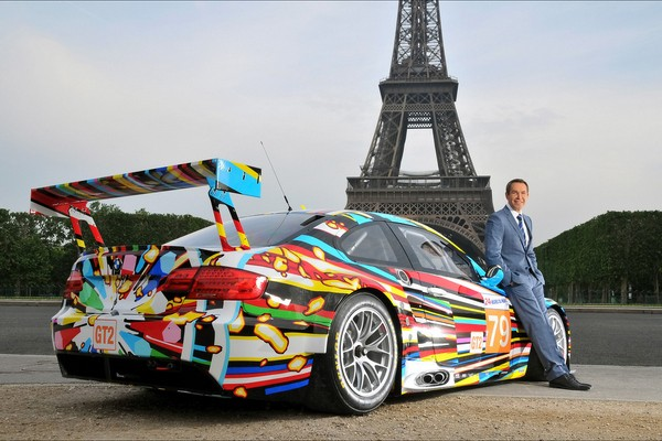 BMW M3 GT2 Art Car by Jeff Koons  - motogazeta mojeauto.pl