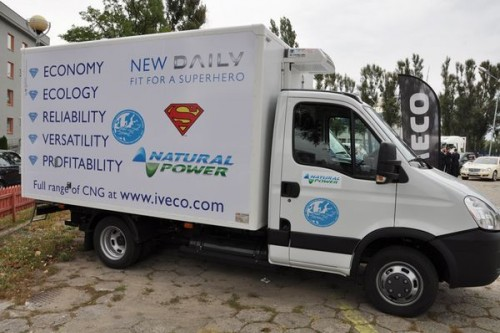 Iveco na Blue Corridor Natural Gas