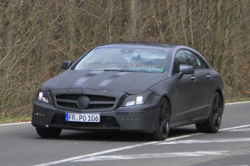 Mercedes CLS63 już w Los Angeles