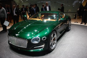 Geneva Motor Show 2015: Bentley EXP 10