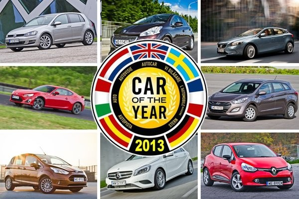 Znamy finalistów Car of the Year 2013!  - motogazeta mojeauto.pl
