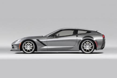 Chevrolet Corvette z nadwoziem shooting brake