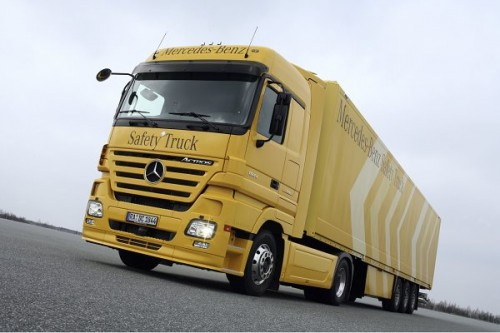 Mercedes 'Safety Truck'