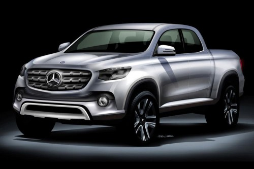 Mercedes pick-up - z techniką Nissana