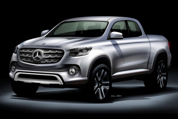 Mercedes pick-up - z techniką Nissana  - motogazeta mojeauto.pl