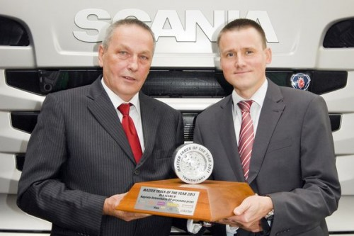 Scania serii R laureatem nagrody Master Truck of the Year 2011