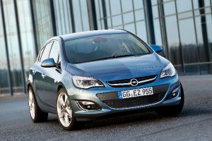 Opel Astra facelifting