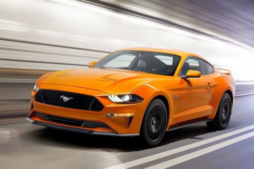 Ford Mustang przeszedł delikatny lifting