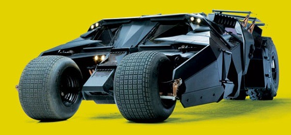 Temat na weekend: Batmobile