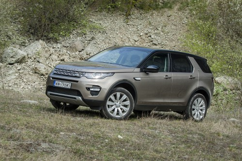 Land Rover Discovery Sport: Test wideo