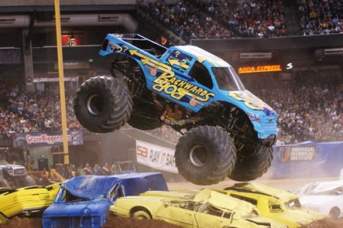 Tyłem do przodu na ORLEN Monster Jam