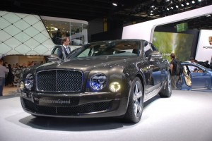 Paryż 2014: Bentley Mulsanne Speed