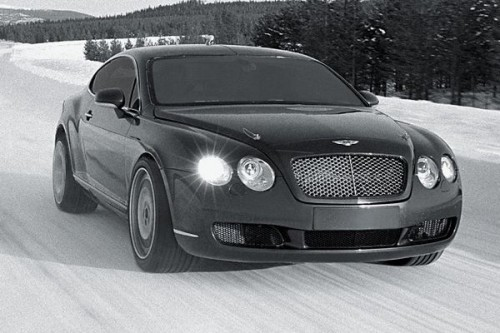 Bentley bije lodowy rekord