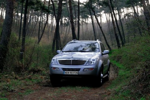 Ratownicy GOPR w Ssangyong