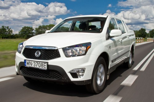 Ssangyong Actyon Sports: Pozorant