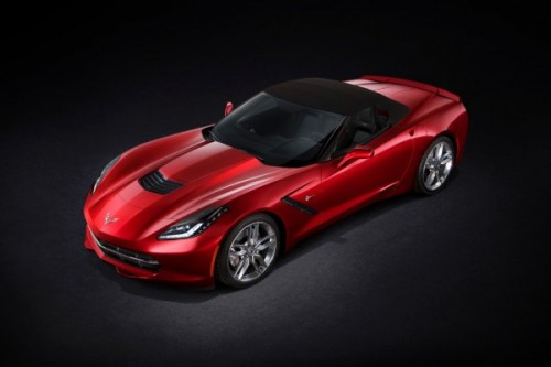 Chevrolet Corvette Stingray bez dachu