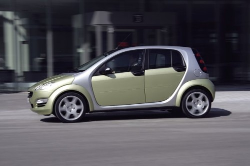 Smart Forfour zasilany LPG