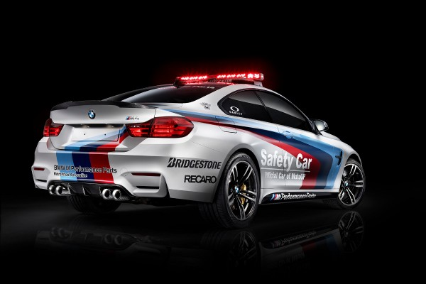 BMW M4 Coupé MotoGP Safety Car  - motogazeta mojeauto.pl
