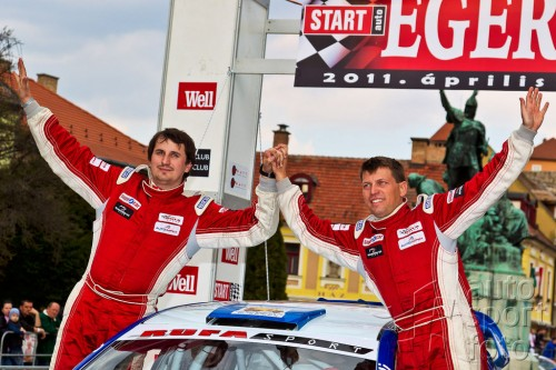 Grzyb Focusem WRC w Rally Presov