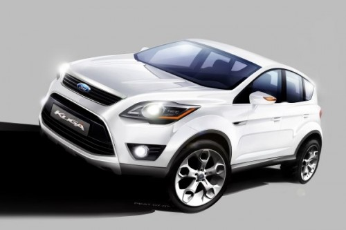 Oto nowy Ford Kuga!