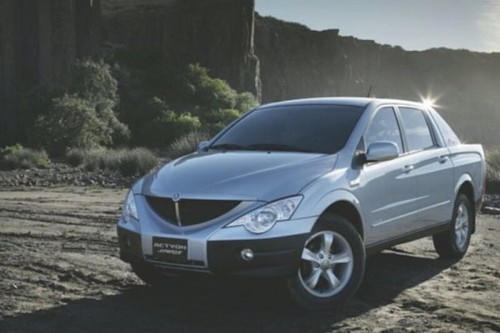 Ssangyong Actyon SUT: Pick-up z Korei