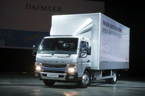 Nowy Fuso Canter Eco Hybrid