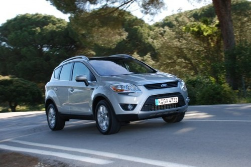 Ford Kuga: Strong-baby [video]