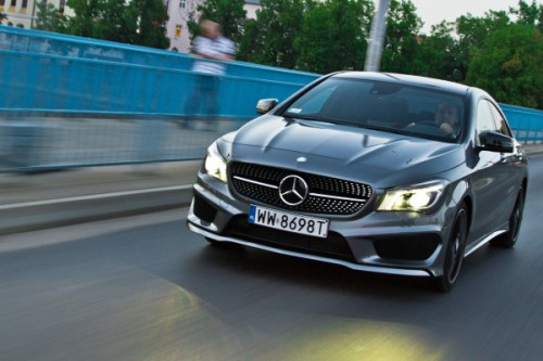 Mercedes CLA 200: TEST- WIDEO