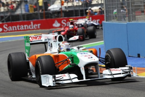 F1: Force India z KERS